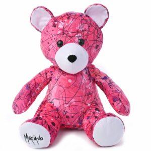 Peluche Teddy Bear pink by murciano