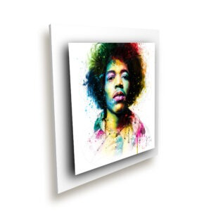 Jimi Hendrix - toile peinture - Galerie d'Art dans l'Hérault - art contemporain pop art by Murciano