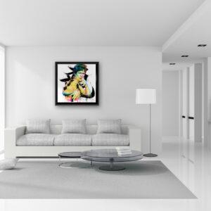 Bruce lee - - toile peinture - Galerie d'Art dans l'Hérault - art contemporain pop art by Murciano