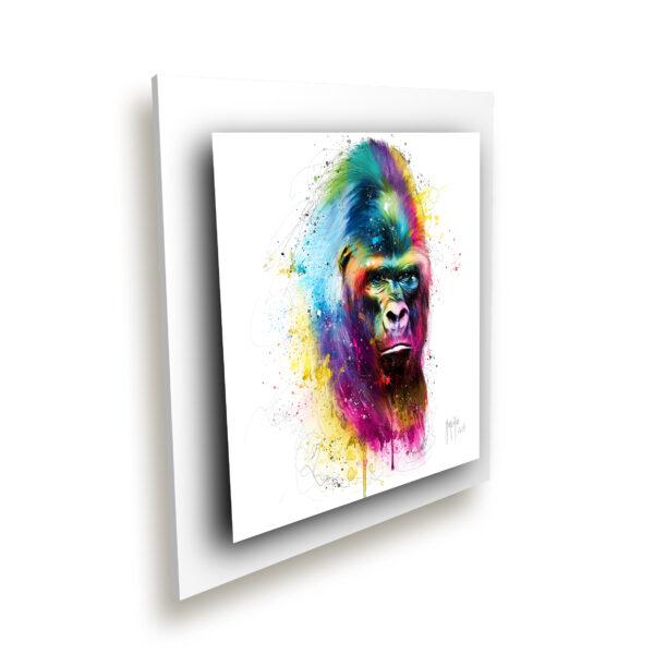 Gorille dans la brume - toile peinture - Galerie d'Art dans l'Hérault - art contemporain pop art by Murciano