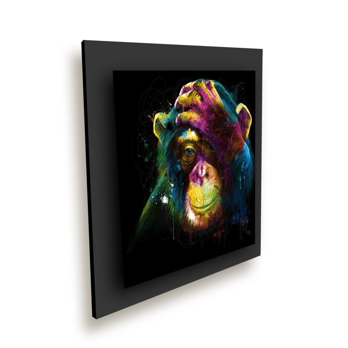 Darwin preoccupations - toile peinture - Galerie d'Art dans l'Hérault - art contemporain pop art by Murciano