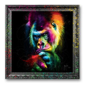 le vieux sage murciano gorille peinture oeuvre toile